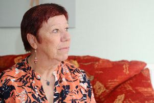 Stephanie Chaplen (62) from Leigh Park, was diagnosed with bipolar affective disorder 10 years ago. Picture: Sarah Standing (080419-5752)