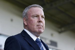 Pompey boss Kenny Jackett. Photo by Daniel Chesterton/phcimages.com
