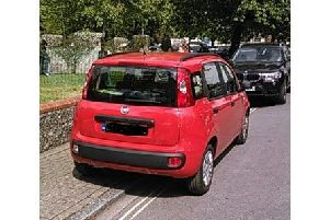 One of the cars ticketed by wardens at St Mary's Church May Fayre in Fratton on Monday Picture: Portsmouth City Council