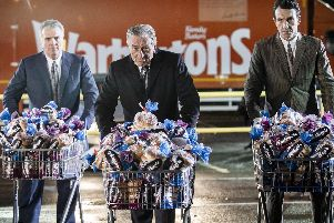 Robert De Niro is the new star of Warburtons latest ad campaign. Picture: Jeff Moore/Warburtons/PA Wire