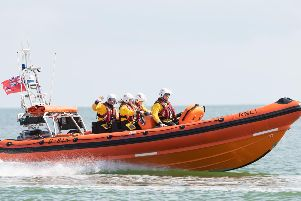 Hayling Island RNLI boat. The RNLI were called to 320 incidents in Hampshire during 2018.'Picture: Keith Woodland (110519-81)