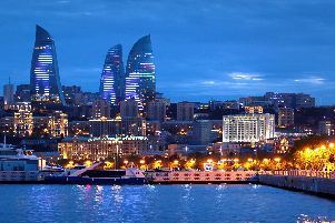 ENERGY-SAPPING: Baku is about to host Chelsea and Arsenal fans