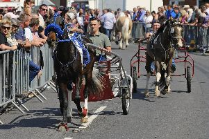 The Wickham Horse Fair will be back on May 20. Picture by:  Malcolm Wells (180521-5350)