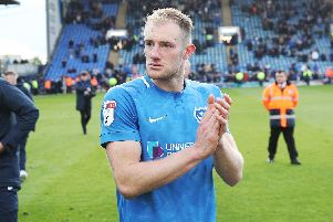 Matt Clarke is likely to leave Pompey this summer. Picture: Joe Pepler