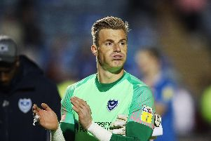 Craig MacGillivray disappointed after Pompey were knocked out of the play-offs. Picture: Joe Pepler