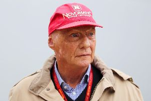 Niki Lauda has died at the age of 70. Picture: David Davies/PA Wire.