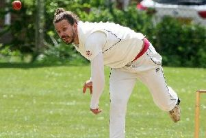 Joe Carter claimed two wickets in East Preston's crushing defeat. Picture by Derek Martin