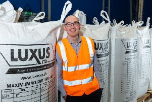 Luxus project manager, Chris Kerridge.