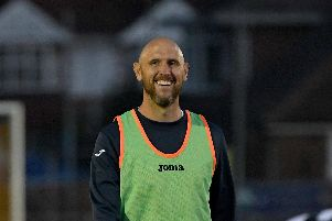 Lee Molyneaux has been busy boosting his Gosport Borough squad this summer. Picture: Neil Marshall (180704-139)