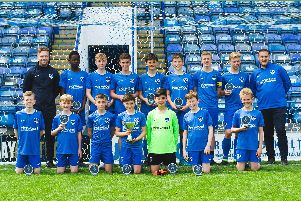 Pompey in the Community won the Junior Premier League National Development League final at Fratton Park. Picture: Pompey in the Community