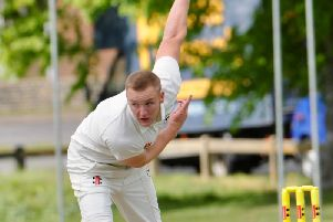 Curtis Howell claimed a five-wicket haul in Findon's T20 Sunday Cup victory. Picture by Stephen Goodger