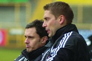 Paul Hurst left with former joint-boss Rob Scott.