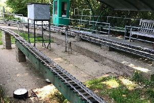 Vandals strike at Polegate Miniature Railway SUS-190524-104102001