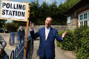 Nigel Farage's Brexit Party topped the polls and won the most seats in the European Parliament (Photo: Getty Images)