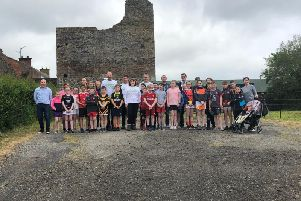 Pictured at Mountjoy Castle