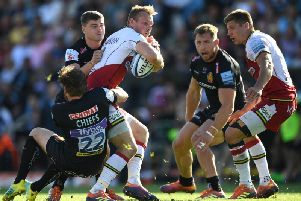 Rory Hutchinson has been a key player for Saints in recent months