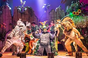 The cast of Madagascar the Musical.