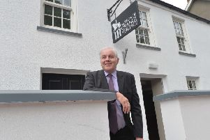 Pacemaker Press 18/6/2015 'Roger Gardiner  at the museum of Orange Heritage at Sloan's house in Loughgall.'Pic Colm Lenaghan/Pacemaker