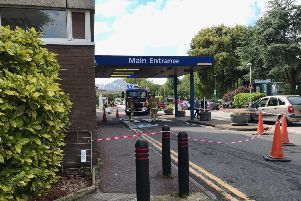 Firefighters were called to Eastbourne DGH, photo by Dan Jessup