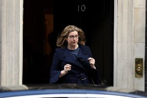 Defence secretary Penny Mordaunt  leaves Downing Street in March. Picture: Dan Kitwood/Getty Images