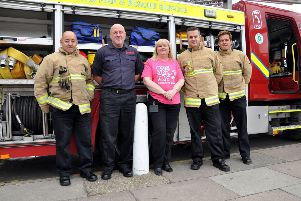 One Great Day: Firefighters from Eastbourne attended'Charity Fun Day at Langney Shjopping Centre.'Saturday 8th June 2019. SUS-190618-091212001