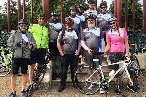 Some of the The IPG team for the London to Brighton Bike Ride