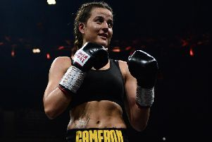 Chantelle Cameron's big fight has been switched to Brentwood