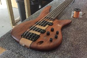 One of the items stolen from Kouga Guitars in Gosport