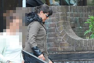 Charity worker Joanne Brooks appeared at Portsmouth Crown Court where she admitted taking more than 4,000 from the organisation she worked for that tried to stop children being sold into sex slavery''Picture: (250619-9748)