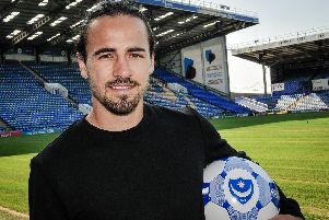 Ryan Williams has returned to Fratton Park to become Pompey's fourth signing of the summer. Picture: Colin Farmery