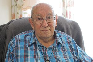 Ronald Rose, 97, of Portchester lost his leg fighting through German in 1944. He has since spoken out about the care he received as Britain marks Armed Forces Day.