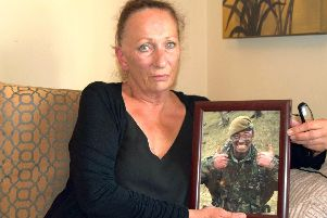 Viv Johnston, mother of special forces hero Danny Johnston, is calling on people to back a charitable foundation in honour of her son, who took his own life in May.'Photo: Tom Cotterill