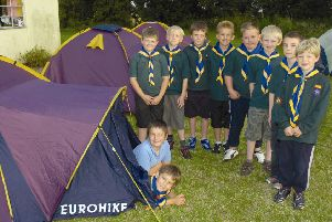 Members of the 10th Boston North Rural Cub, 10 years ago.