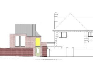 Proposed designs of the new Eastbourne home