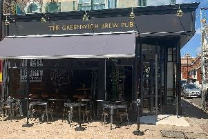 An exterior view of The Greenwich View Pub in Osborne Road, Southsea, which has officially opened. Picture: Greenwich Brew Pub on Facebook