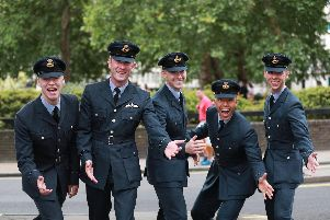 Royal Air Force (RAF) during Pride in London Parade. Photo: MoD