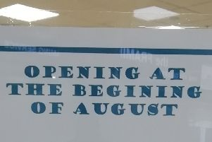 The store hopes to open the new premises early August