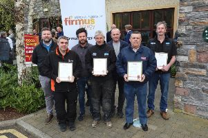 George Lightbody, firmus energy Local Energy Advisor, with team of Gas Safe Registered Installers including McGaffin Mechanical, McCusker Boiler Services, DV Plumbing and  Heating, GT Gas Works, KD Gas Services and HEAT