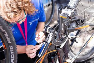 Hampshire Police and Portsmouth City Council are offering a free bike security marking service.