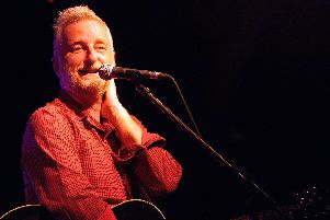 Billy Bragg at The Wedgewood Rooms, Southsea. Picture by Paul Windsor