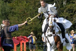 Herstmonceux Castle Medieval Festival August 2018 (Photo by Jon Rigby) SUS-180827-094626001
