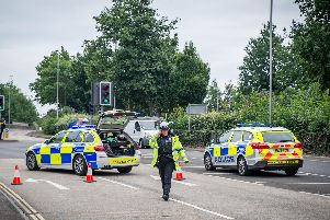 Holbrook Road in Portsmouth was closed off following serious incident.''Picture: Habibur Rahman