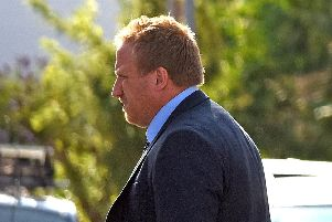 Sean Aldridge is on trial at Portsmouth Crown Court. Picture: Solent News & Photo Agency