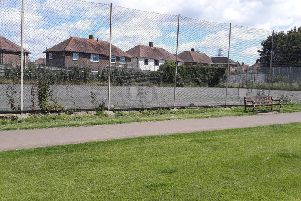 The current tennis courts