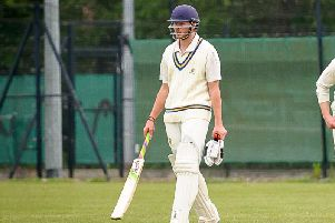 Michael Ross scored 119 in Barby 1sts' win over Coventry& North Warwicks