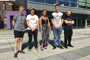 Inspiring students from Northbrook College in Durrington have shared their coming out stories for Worthing Pride