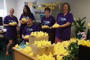 With just one month to go until Lymphoma Actions inaugural duck race, there's still time to sponsor a duck and raise funds for an amazing charity!