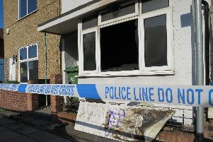 Pictures show the damage in the aftermath of a terraced house fire in Fawcett Road in Southsea. Firefighters were called at 3.57am on July 16. Picture: Ben Fishwick
