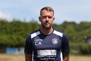 Hastings manager Chris Agutter. Picture Courtesy of Scott White.