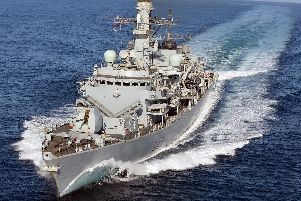 HMS Kent will deploy to the Gulf in September as tensions between Britain and Iran increase. Photo: LA(Phot) Simmo Simpson